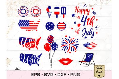 4th of July bundle SVG