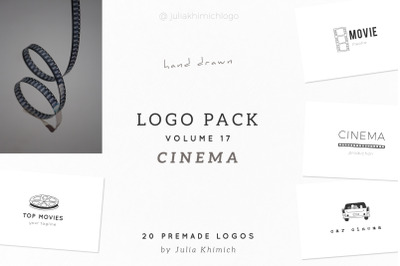 Logo Pack Volume 17. Cinema