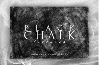 Black Chalk Textures 1