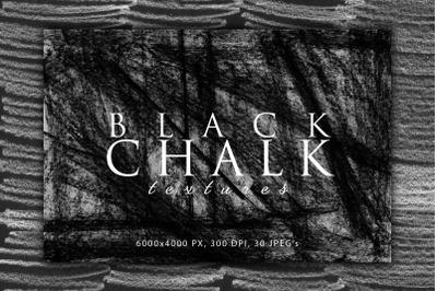 Black Chalk Textures 3