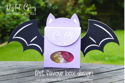 Bat, Halloween favour box