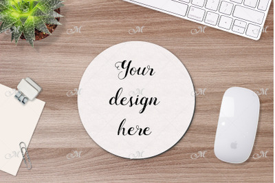 Mouse Pad Mockup 2-in-1. PSD JPEG