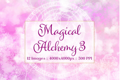 Magical Alchemy 3 - Background Images Textures Set