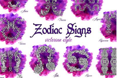 Zodiac signs victorian
