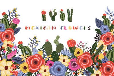 Mexican Flowers Bouquet Collections