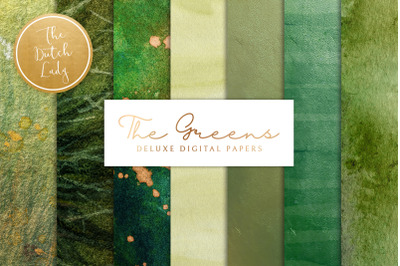The Green Paint Texture Backgrounds