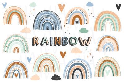 Boho Rainbows Collection Set