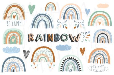 Boho Rainbows Collection Se