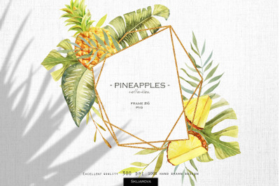 Pineapples. Frame #6