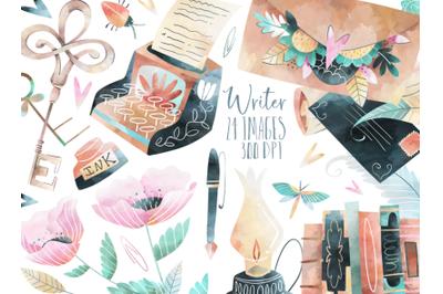 Watercolor Writer Set