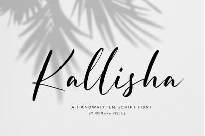 Kallisha - Handwritten Script