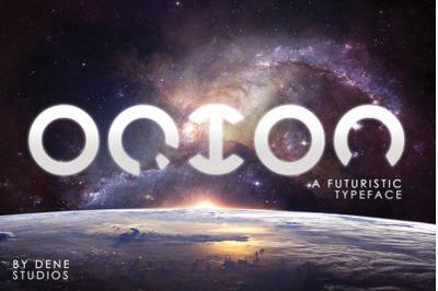 ORION - A Futuristic Typeface