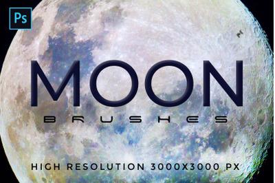 32 Planetary Moon Brushes