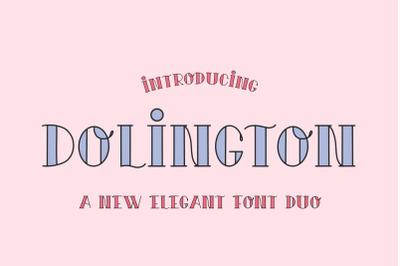 Dolington Font Duo