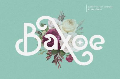 Baxoe | Elegant and Fancy Typeface