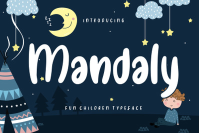 Mandaly Fun Children Typeface