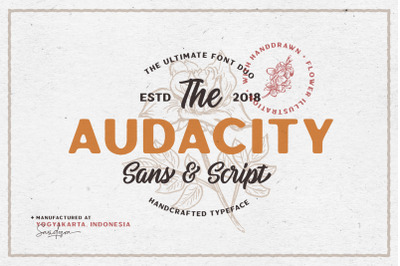 Audacity - Font Duo (+EXTRAS)
