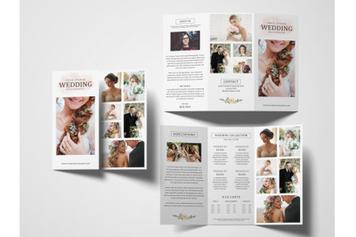 Photography Tri fold Brochure | Pricing Guide