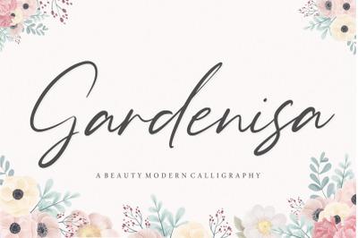 Gardenisa Beauty Modern Calligraphy Font