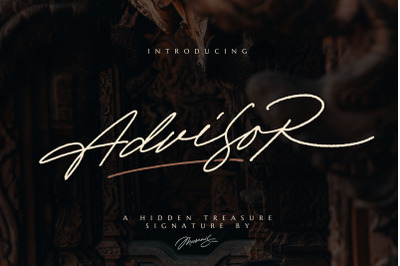 Advisor - Elegant Signature