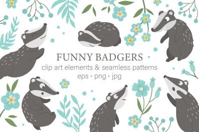Funny Badgers