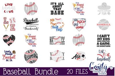 Baseball Svg Bundle, Baseball Shirt Cut File