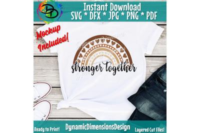 Stronger Together, One Race, Human Race, Skin Tone, Melanin, Black Liv
