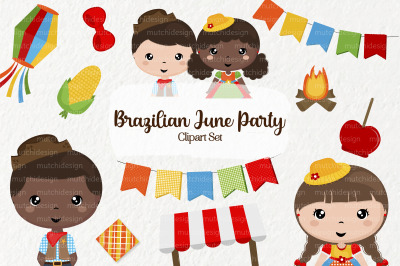 Festa Junina Clipart Set