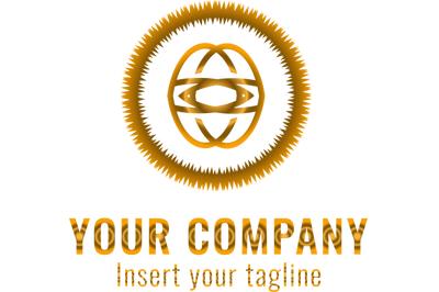 Logo Gold Motive Ring