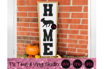 Chihuahua Svg, Home Svg, Welcome Svg, Porch Sign Svg, Chihuahua Sign S