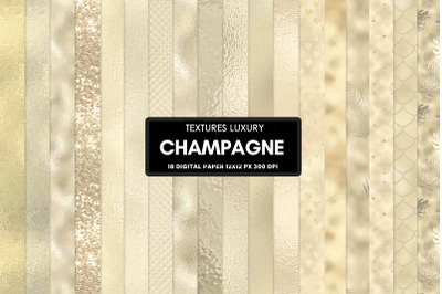 Champagne seamless textures