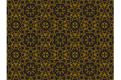 Pattern Gold Ornament Luxury