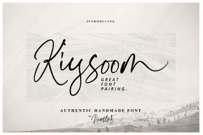 Kiysoom Signature