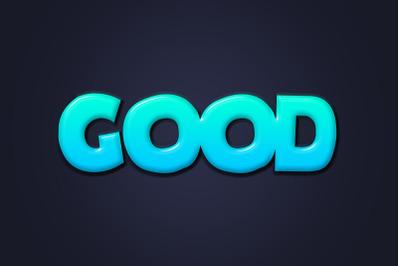 Good Text Effect PSD