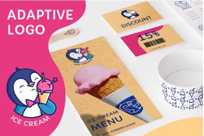 Ice Cream - adaptive logo