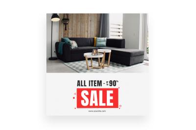 All Item Sale - Instagram Post