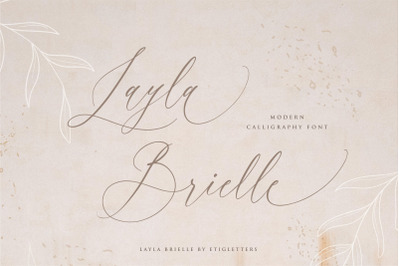 Layla Brielle Font