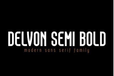 Delvon Semi Bold
