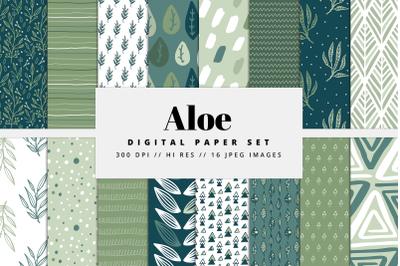 Aloe Digital Paper Set