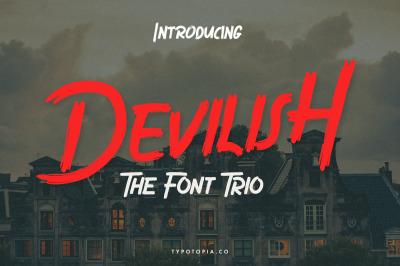 Devilish - The Font Trio