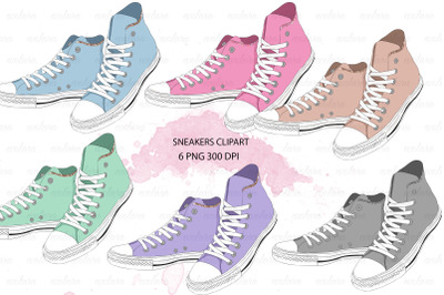 Shoes Clipart Sneakers Clipart Sneaker Fashion Clipart School Clipart