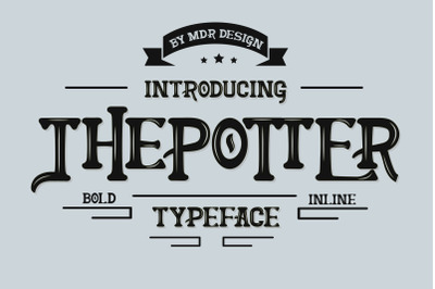 THEPOTTER FONT