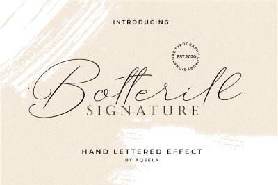 Botterill Signature