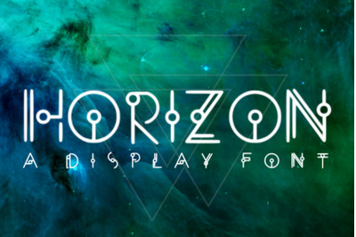 HORIZON - A Display Font