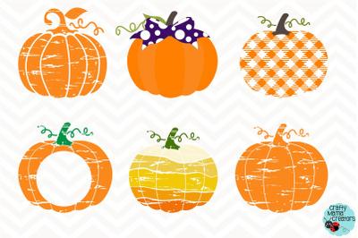 Pumpkin SVG, Patterned Pumpkin Bundle Sublimation, Fall Svg