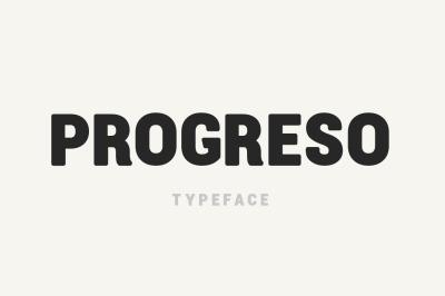Progreso Typeface
