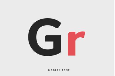 Grasp Typeface