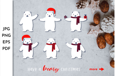 Christmas Beer Clipart