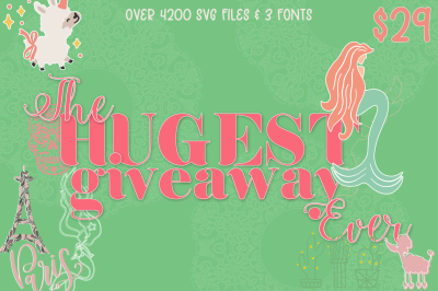 The Hugest Giveaway Ever Bundle
