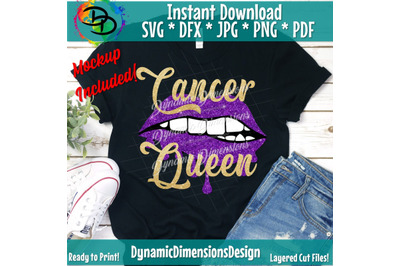 Cancer Queen Svg, Drip Svg, Zodic Sign, Horoscope svg, Cancer svg, Drip Squad, SVG, Birthday svg, Birthday girl, Diva, Sexy, Glitter